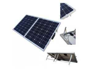 120W Folding Solar Panel Kits for Camping with 5m Cable pictures & photos