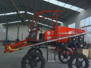4WD 4ws Hst Aidi Brand Self-Propelled Mist Boom Sprayer for Foliage Fertilizer