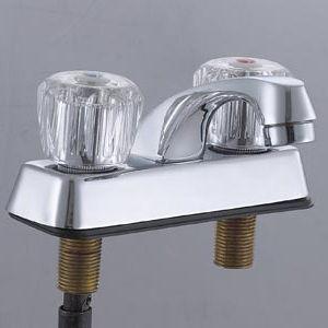 Brass Double Handle Kitchen Faucet (ZR8425)