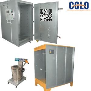 Manual Powder Coating System with Spray Booth and Curing Oven pictures & photos