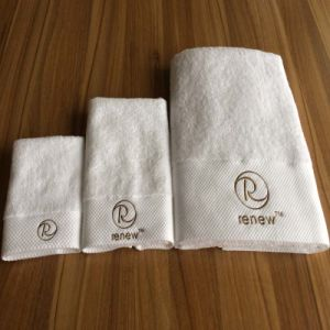 100% Combed Cotton Towel Sets for Hotel /SPA (DPF10702) pictures & photos