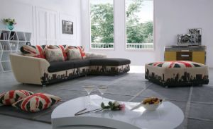 Simple Designs Livingroom Modern Fabric Sofa for Home Use (F869) pictures & photos