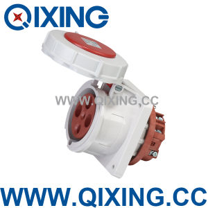 Cee/IEC IP67 4 Pins 125A 400V 3 Phase Waterfproof Industrial Socket (QX1457) pictures & photos