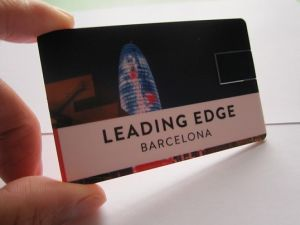 OEM USB Business Credit Card USB Flash Drive (OM-P509) pictures & photos