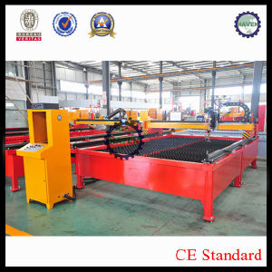 CNC TG-1250X2500 CNC Plasma and Flame Cutting Machine with Table pictures & photos