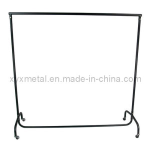 Heavy Duty Clothes Powder Coating Metal Rail Garment Rack pictures & photos