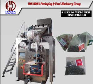 Nylon Pyramid Bag Packing Machine with 4 Head Weigher (DXDCH-10D) pictures & photos