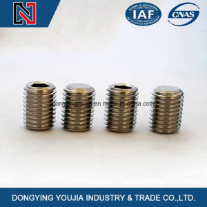 Hexagon Socket Set Screw with Flat Point pictures & photos