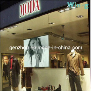 Double White Projection Film for Advertising Display (GZ- DW7 Double White)