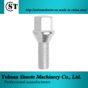 Wheel Cone Seat Lug Bolts, Made of Carbon or Alloy Steel