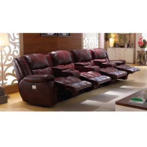 Luxury VIP Cinema Recliner Sofa 6025TV pictures & photos