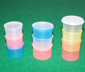 Disposable Medical Use Medicine Cup Container with Lid pictures & photos