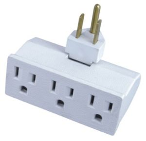 American White 3 Pin Plug pictures & photos