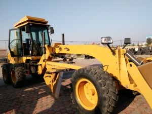 130HP Hydraulic Mini Grader with Front Dozer and Ripper Py9130 pictures & photos