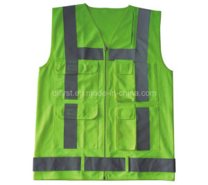 Traffic High Visibility Safety Vest with CE (DFV1088) pictures & photos