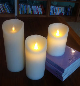 LED Christmas Candles with Moving Flameless, with USA and EU Patent