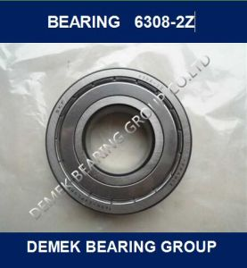 NSK Deep Groove Ball Bearing 6308 Zz pictures & photos