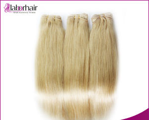 "Human Hair Extensions 14"" New Fashion European Pure Blonde Remy Lbh 028 pictures & photos"