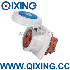Cee/IEC Flange Socket for Industrial Application with CE Certification (QX3380) pictures & photos