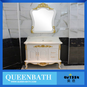 Luxury Floor Mounted French Provincial Bathroom Vanity Cabinet
