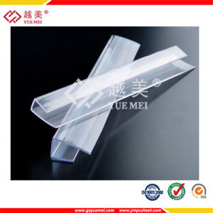 Yuemei Special Polycarbonate H Connector Polycarboante Profile Polycarbonate Accessories pictures & photos