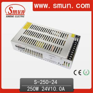 250W 24V 10A DC Output Switching Power Supply pictures & photos