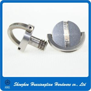 Stainless Steel Slotted Head Ring Screw pictures & photos
