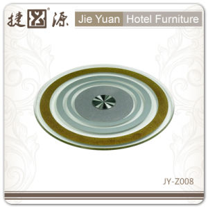 Factory Price Hotel Furniture Transparent 4 Inch Lazy Susan (JY-Z008) pictures & photos