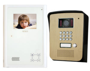 3.8′′ Hands Free Color Video Door Phone