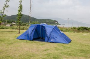 4 Persons Double Layers Family Tent/Camping Tent (EFT-002) pictures & photos
