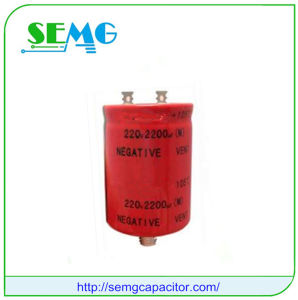 6800UF 450V High Voltage Aluminum Electrolytic Capacitor pictures & photos