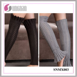 2015 Europe Bud-Shaped Leg Warmers Warm Knitting Wool Sleeves Socks pictures & photos