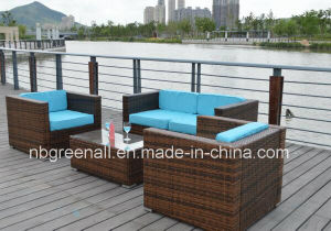 PE Rattan Wicker Sofa Outdoor Garden Furniture pictures & photos