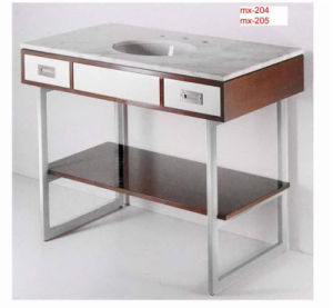 Manufacturers Direct Export to Europe and America Fashion Style Stainless Steel Sink Vanity Base (10-202) pictures & photos