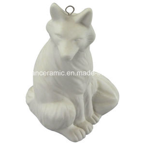 Ceramic Pendant, Porcelain Fox Gift Hang Decoration Accessory (6577) pictures & photos