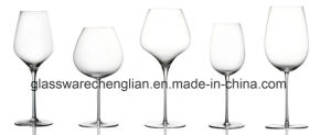 Hand Made Crystal Wine Glasses (B-WG051) pictures & photos