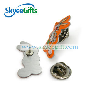 Customized Metal Custom Pins Round Cartoon Badges pictures & photos
