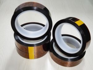 High Temperature Polyimide Film Adhesive Tape pictures & photos