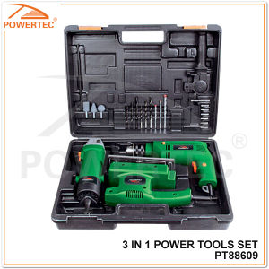 Powertec 3 in 1 Power Tool Set pictures & photos