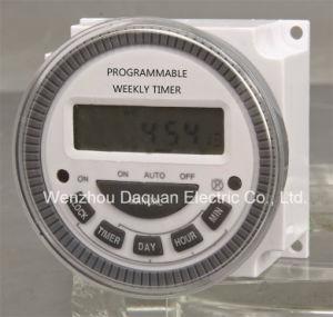 Digital Weekly Programmable Timer TM-619