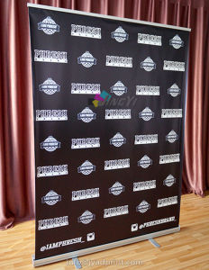 Custom Printed 150X200cm Advertising Pull up Banner pictures & photos