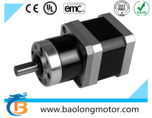 17HS4402N-PG10 NEMA17 Circular Geared Stepper Motor (42mm X 42mm) pictures & photos