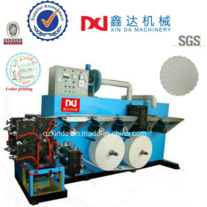 Automatic Counting Flower Embosser Color Printer Paper Cup Tray Forming Machine pictures & photos