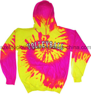 Wholesale Custom Pullover Tie Dye Hoodies Digital Printing pictures & photos