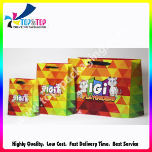 Biodegradable Feature Charcoal Paper Bag with Handle pictures & photos