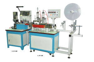 RFID/Dr Tag Label Labeling with Cut and Fold Machine (HY-168+HY-268+HY-368) pictures & photos
