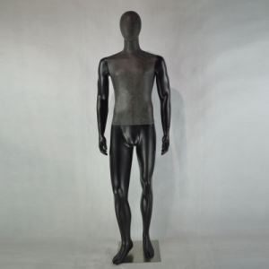 Black PU Wrapped European Male Mannequin for Men Suits pictures & photos