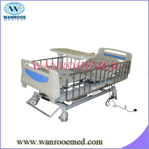 Ce Approved Full Length Side Rails Three Function Electric Hospital Bed pictures & photos