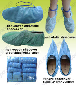 Cheap Disposable PP Non-Woven/PE/CPE Shoecover (LY-NSC) pictures & photos