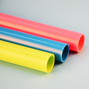 Customize ABS Extrusion Plastic Tube pictures & photos